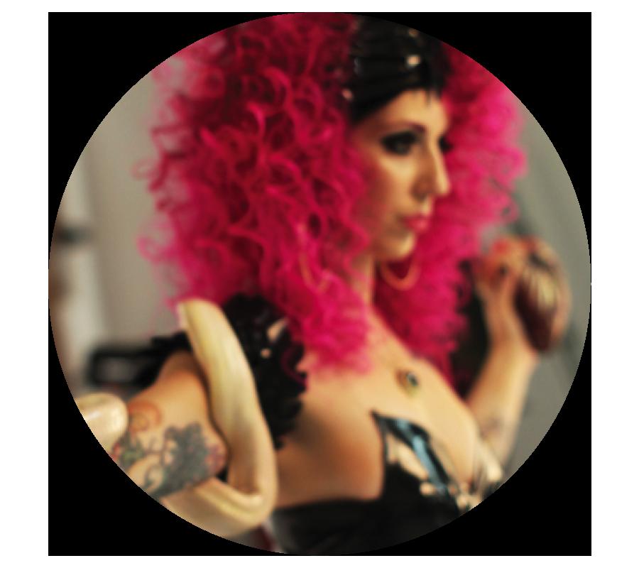 Krista Bursey pink hair