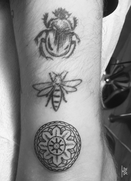 Tryptic Tattoo Right