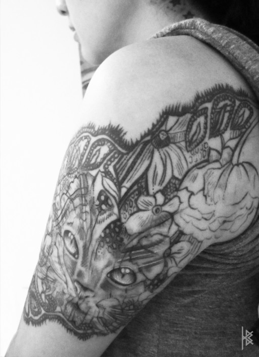 Lacy Catastic Tattoo
