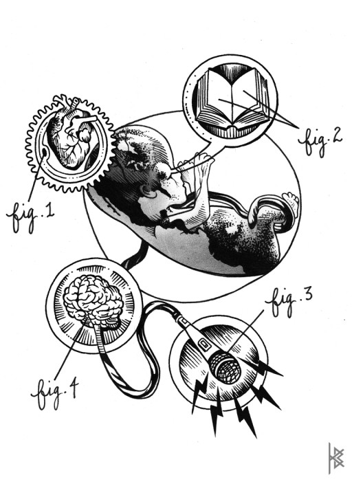 Embryonic Geometry Illustration