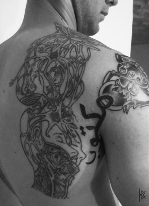"""Maktub"" (It is written) Tattoo"