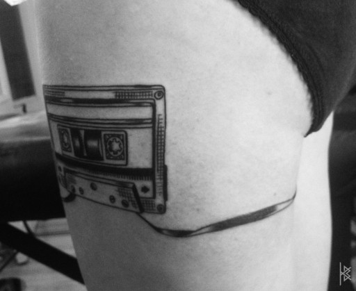 Cassette Tape Tattoo