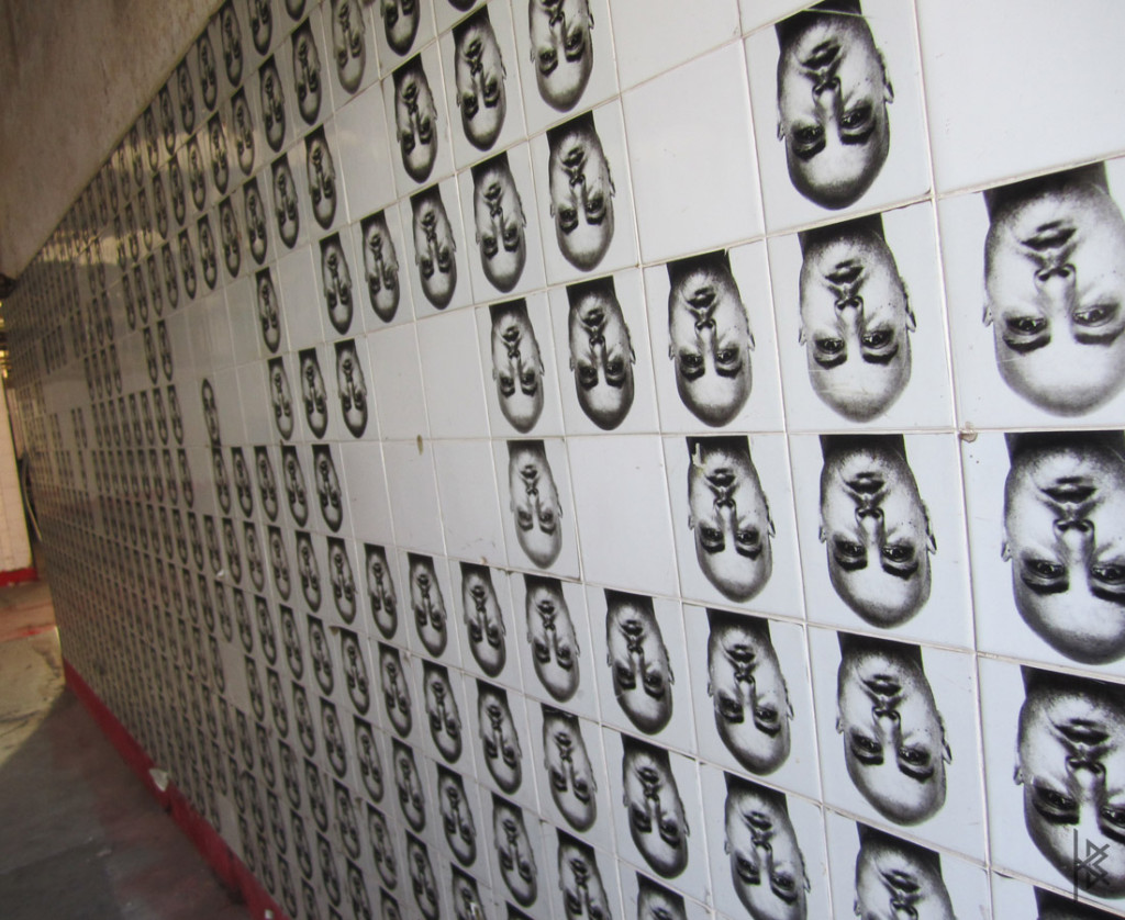 Face Tile Installation