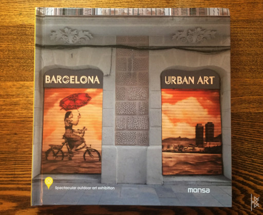 Barcelona Urban Art Book Cover