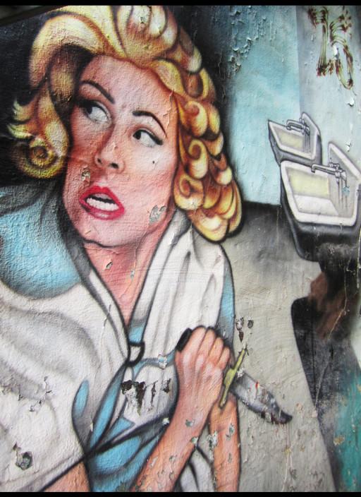''Insane Asylum'' Detail, 2011.