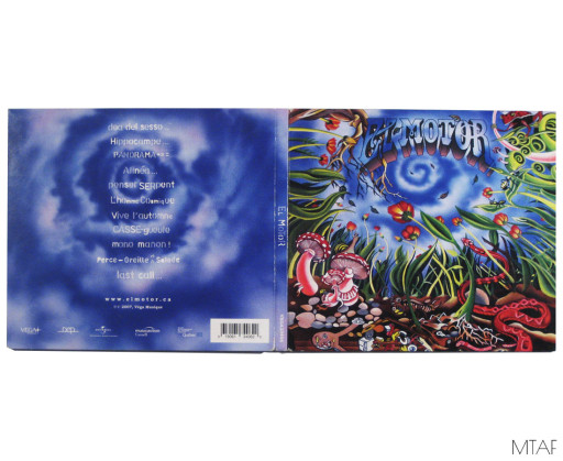 Cover and Back of CD
