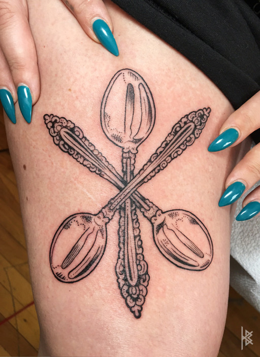 3 Spoons Tattoo