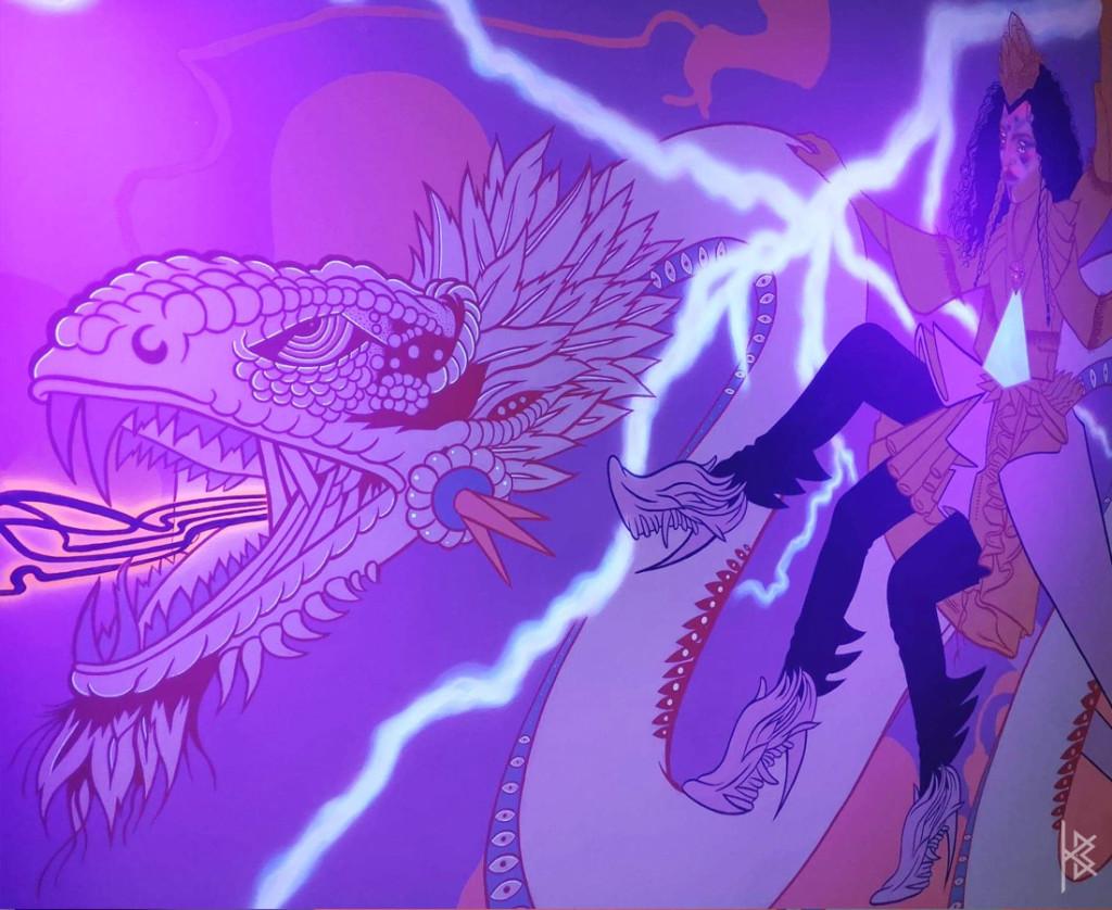 Glowing Dragon