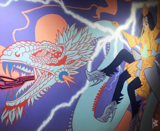 Warrior Dragon Close