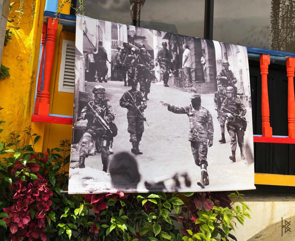 COMUNA 13 WAR PHOTO